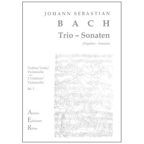 Bach, J.S.: Streichtrio: Trio-Sonaten Nr. I und VI für Orgel