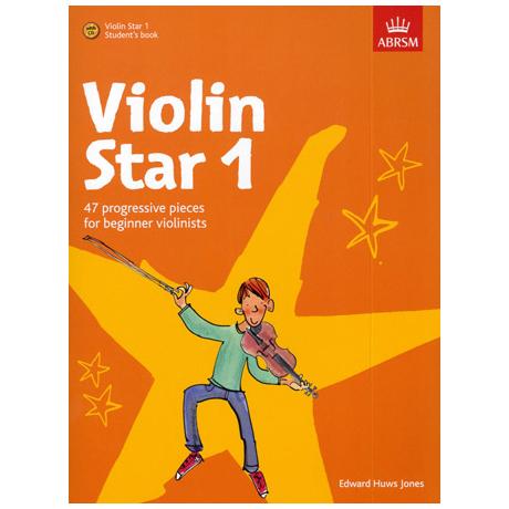 Jones, E.H.: Violin Star 1 (+CD)