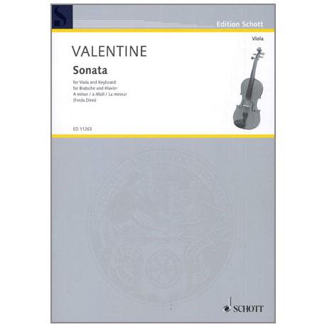 Valentine, R.: Sonate Nr.9 a-moll