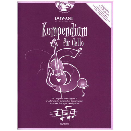 Kompendium für Cello - Band 6 (+ 2 CD's)