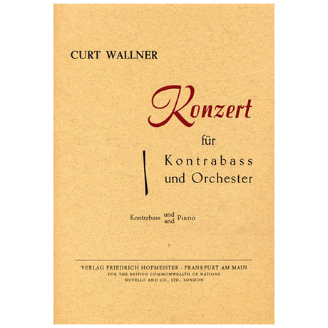 Wallner, C.: Konzert