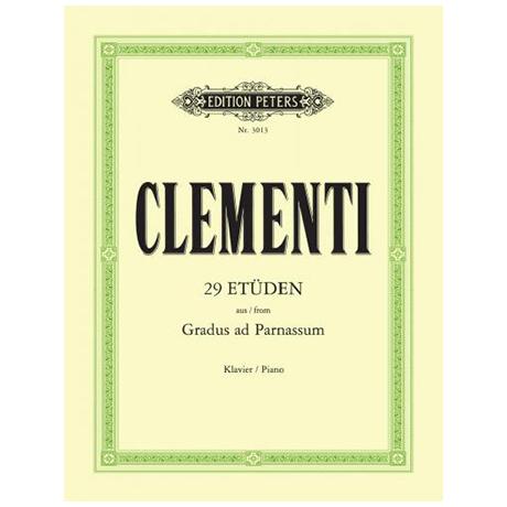 Clementi, M.: Gradus ad Parnassum Auswahl