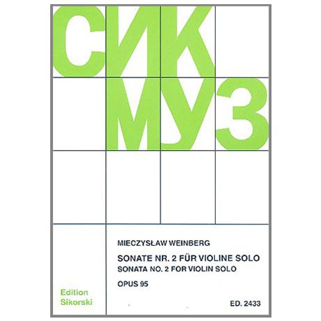 Weinberg, M.: Sonate Nr. 2 Op. 95