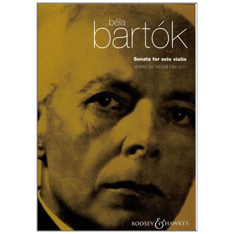 Bartók, B.: Sonate für Violine solo