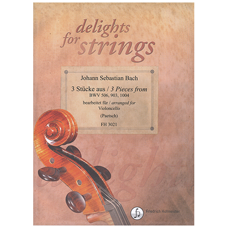 Bach, J.S.: 3 Stücke aus BWV 506, 903, 1004