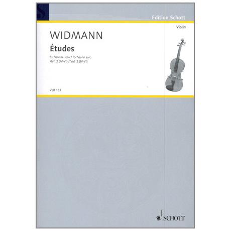 Widmann, J.: Etudes Vol.2 (IV-VI)