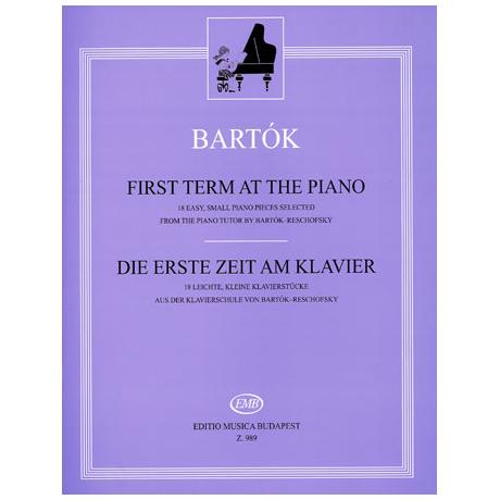 Bartók: Die erste Zeit am Klavier