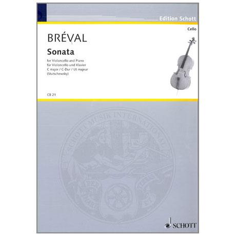 Bréval, J.B.: Sonate C-Dur aus Op. 40