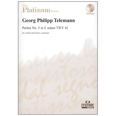 Telemann, G.P.: Partita Nr. 5 in e-moll TWV 41