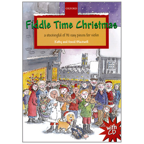 Blackwell: Fiddle Time Christmas (+CD)