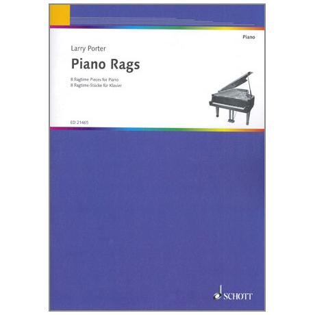 Porter, L.: Piano Rags