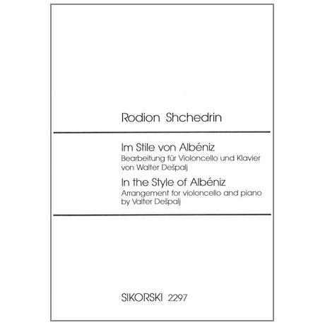 Schtschedrin, R.: Im Stile von Albeniz