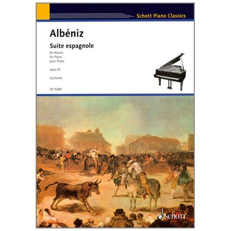 Albeniz: Suite espagnole op.47