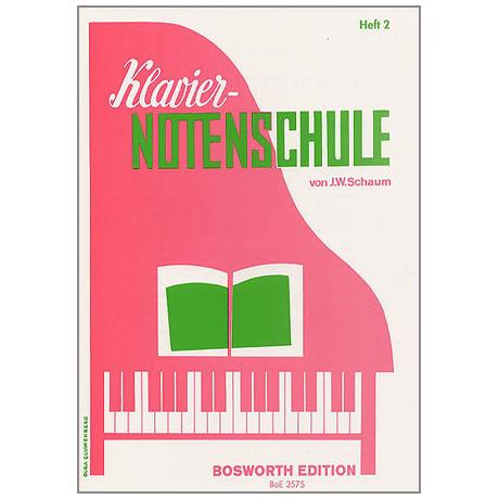 Schaum – Klavier-Notenschule 2