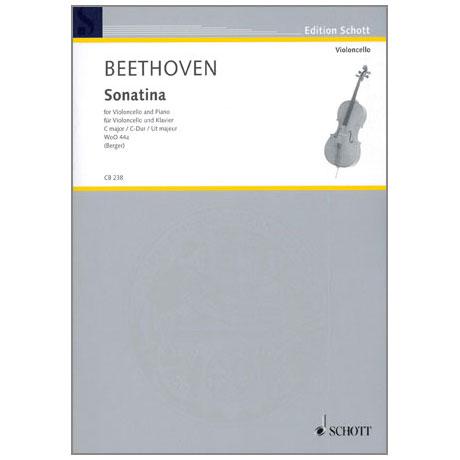 Beethoven, L. v.: Violoncellosonatina WoO44a C-Dur