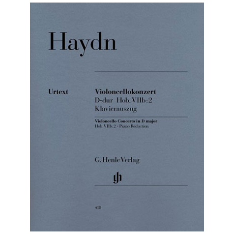 Haydn, J.: Konzert Op. 101 Hob.VIIb:2 D-Dur
