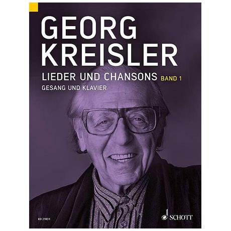 Kreisler, G.: Lieder und Chansons Bd.1