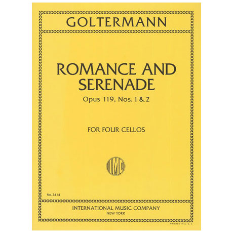 Goltermann: Romance and Serenade Op.119 Nr.1&2