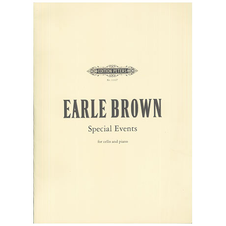 Brown, E.: Special Events