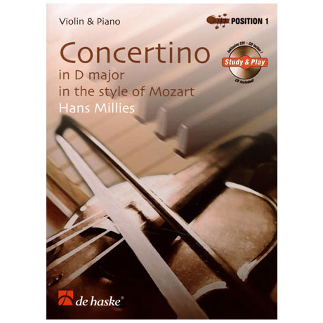 Millies, H.: Concertino D-Dur im Stile Mozarts (+CD)