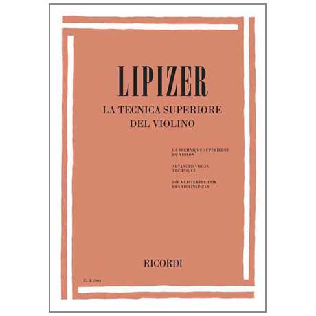 Lipizer, R.: Die Meistertechnik des Violinspiels