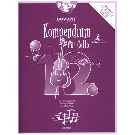 Kompendium für Cello - Band 12 (+ 2 CD's)
