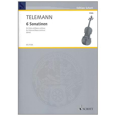 Telemann, G. Ph.: 6 Violasonatinen