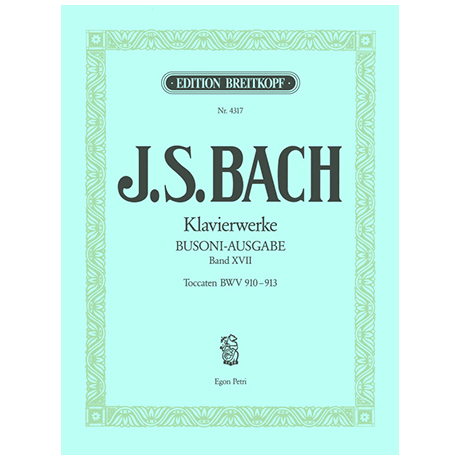 Bach, J. S.: Toccaten BWV 910-913