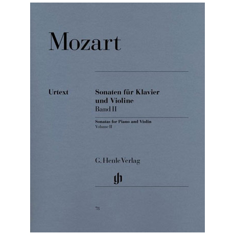 Mozart, W. A.: Sonaten Band 2