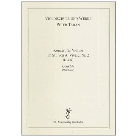 Taban, P.: Op. 6/b: Konzert im Stil von A. Vivaldi Nr. 2