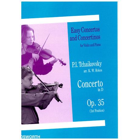 Tschaikowski, P.I.: Concerto in D-Dur Op.35