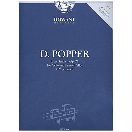 Popper, D.: Leichte Etüden Op.73 (+2CDs)