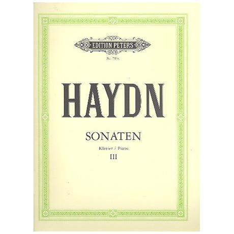 Haydn, J.: Sonaten Band III