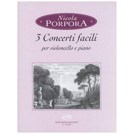 Porpora, N.: 3 Concerti facili