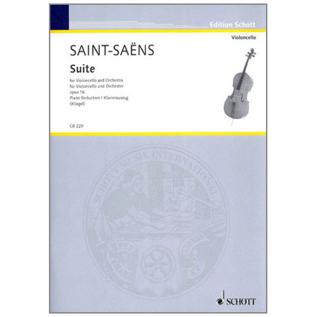 Saint-Saëns, C.: Suite Op. 16