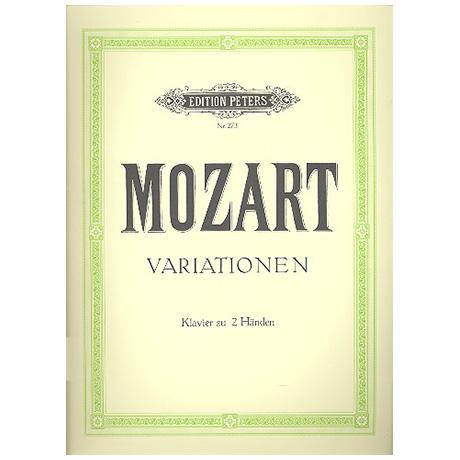 Mozart, W. A.: Variationen