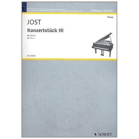Jost, C.: Konzertstück III