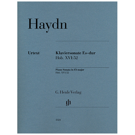 Haydn, J.: Klaviersonate Es-Dur Hob. XVI:52