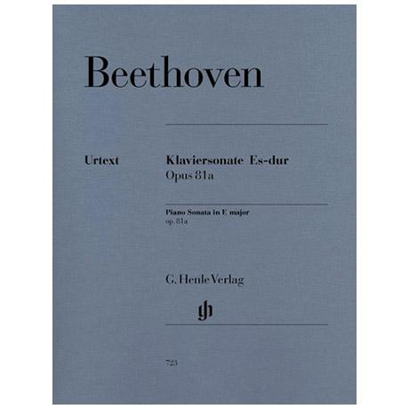 Beethoven, L. v.: Klaviersonate Nr. 26 Es-Dur Op. 81a Les Adieux
