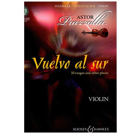 Piazzolla, Astor: Vuelvo al sur (+CD)