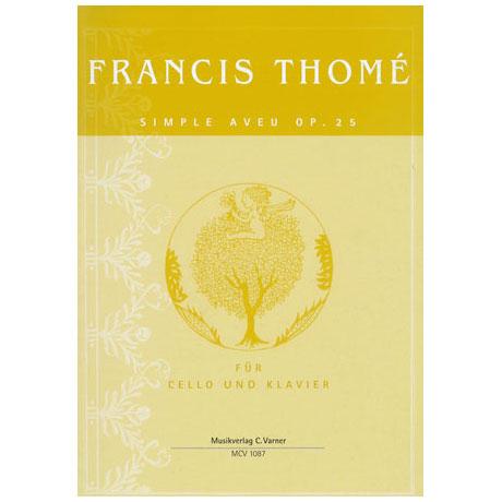 Thomé, F.: Simple aveu Op.25