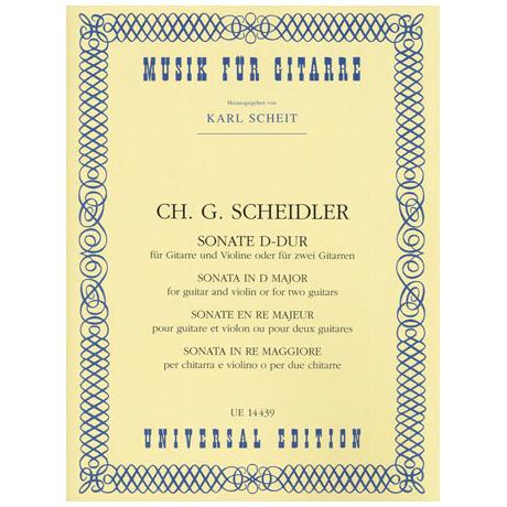Scheidler, C.G.: Sonate D-dur