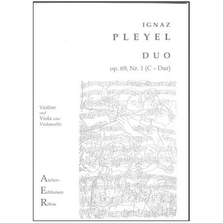 Pleyel, I.: Duo op.69, Nr. 3 in C-Dur