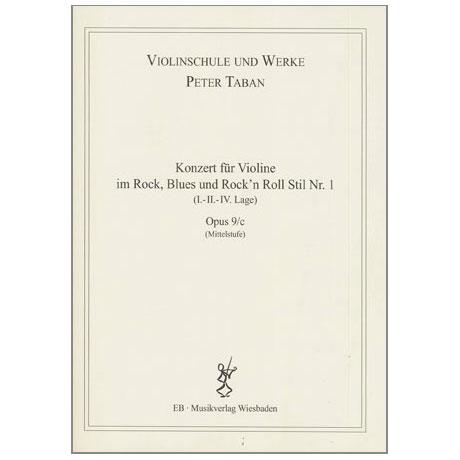 Taban, P.: Op. 9/c: Konzert im Rock, Blues, Rock'n Roll Stil Nr. 1