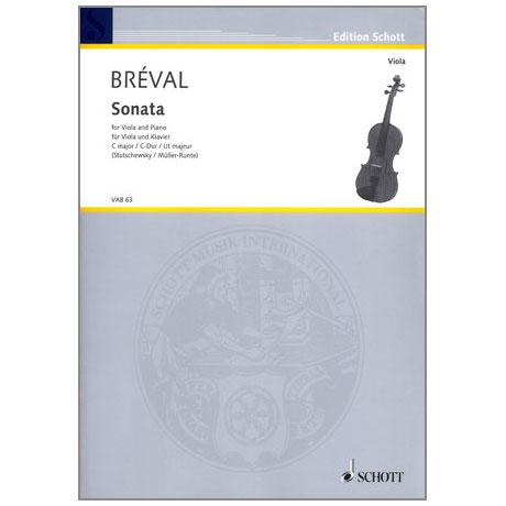 Bréval, J.B.: Violasonate C-Dur