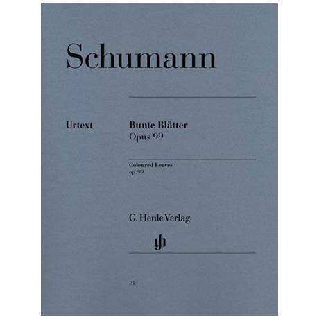 Schumann, R.: Bunte Blätter Op. 99