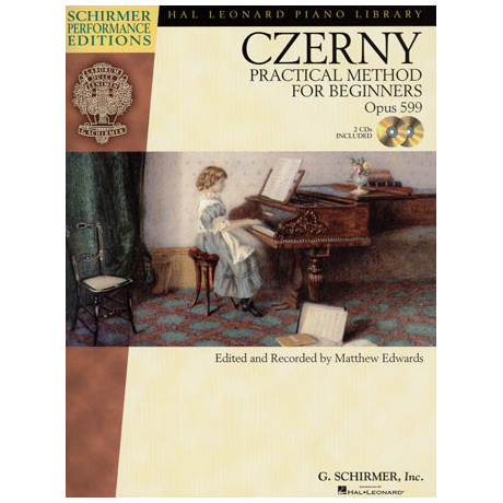 Czerny: Practical Method For Beginners Op.599 (+2CDs)