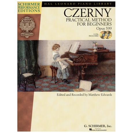 Czerny, C.: Practical Method For Beginners Op.599 (+Online Audio)