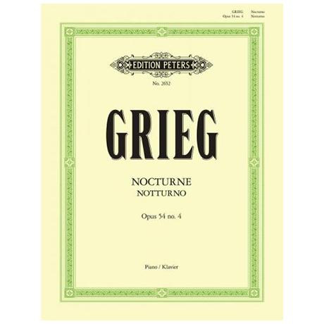 Grieg, E.: Notturno Op. 54/4
