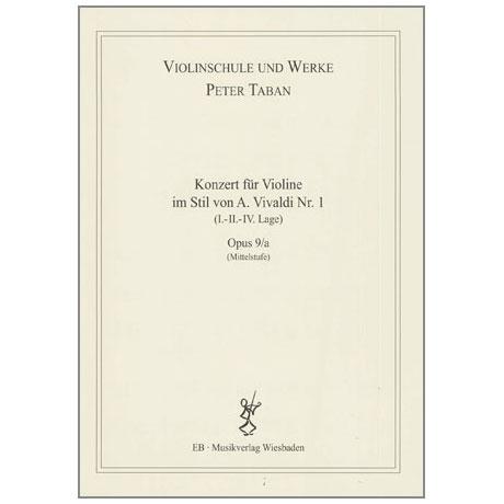 Taban, P.: Op. 9/a: Konzert im Stil von A. Vivaldi Nr. 1